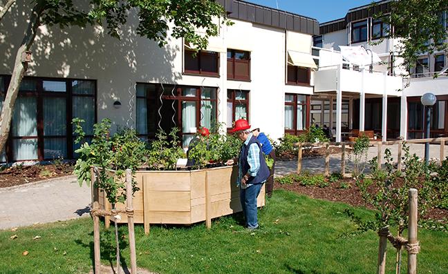 Kurzzeitpflege Wohnstift Steigerwald
